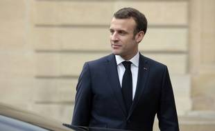 Emmanuel Macron, le 19 février 2019 à Paris.