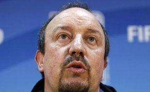 L'entraîneur de l'Inter Milan Rafael Benitez, le 17 décembre 2010.