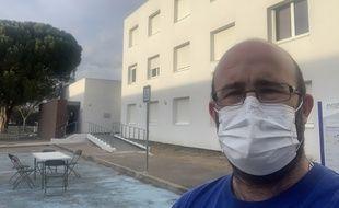 Hugues Reynal, un Tarnais de retour de Chine, est en quarantaine depuis dimanche à Aix-en-Provence.
