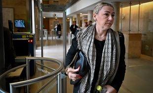Sandrine Chossat, la femme de Claude Chossat a témoigné des menaces qui pesaient sur sa famille à la cour d'assises des Bouches-du-Rhône.