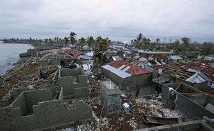 Les Cayes, en Haïti, meurtri par l'ouragan Matthew, le 6 octobre 2016.