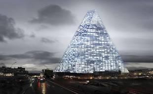 Illustration de la tour Triangle.