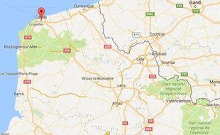 L'accident a eu lieu près d Calais, dans le Pas-de-Calais.