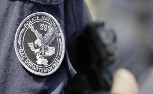 Policier de la BAC départementale du Nord.