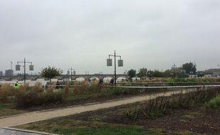 Un périmètre de sécurité a été mis en place sur les quais de Bordeaux.