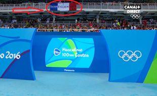 Sarreguemines est partout. Ici aux JO de Rio en 2016