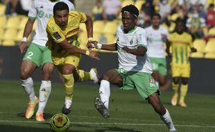 Yvan Neyou, ici en septembre lors d'un match nul à Nantes (2-2).