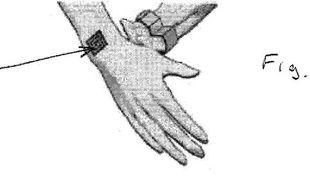 Illustration fournie par Nokia pour son brevet de tatouage vibrant.