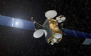 Le satellite EUTELSAT 172B conçu par Airbus Defence & Space.