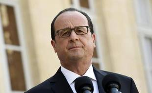 Le président de la République, François Hollande, le 26 juin 2015 à l'Elysée