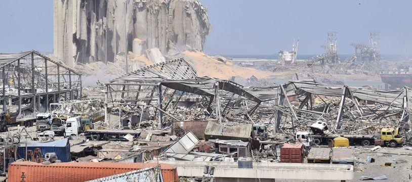 Après les explosions à Beyrouth (archives)