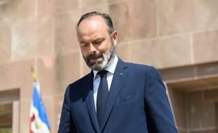 Edouard Philippe lors des cérémonies du 18 juin.