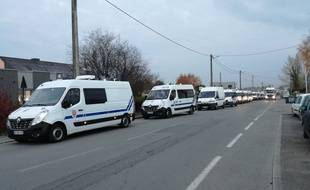 Mardi, les CRS ont été appelés pour libérer le dépôt pétrolier de Vern-sur-Seiche bloqué depuis dimanche par les gilets jaunes.
