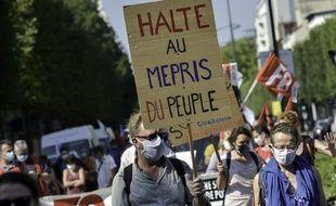 Manifestation des soignants français en novembre