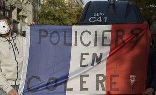 Illustration des manifestations policières