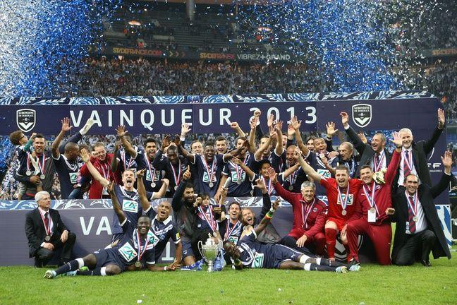 Le Coupe de France 2013 est le dernier trophée remporté par les Girondins.