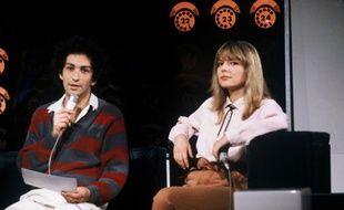 France Gall et Michel Berger, couple mythique de la chanson française.