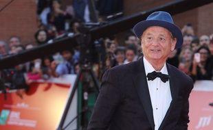 L'acteur Bill Murray au Festival du film de Rome