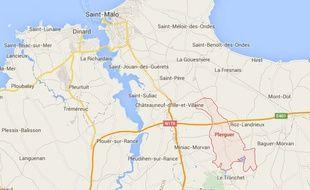 Le chauffard a forcé un barrage routier samedi soir au niveau de Plerguer en Ille-et-Vilaine.