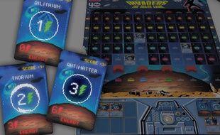 Le jeu de plateau est une adaptation du jeu d'arcade devenu culte Space Invaders.