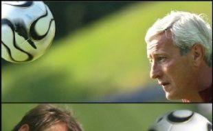 Les demi-finales du Mondial-2006 de football opposent quatre équipes européennes, mais quatre entraîneurs, dont Marcello Lippi et Jürgen Klinsmannau, au curriculum vitae bien distinct.
