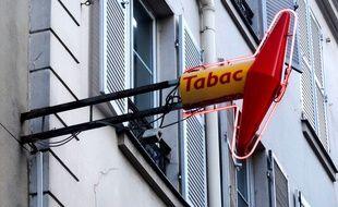 Un bureau de tabac en France (illustration)