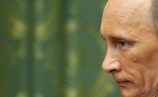 Vladimir Poutine, en visite à Kiev en Ukraine, le 27 octobre 2010.