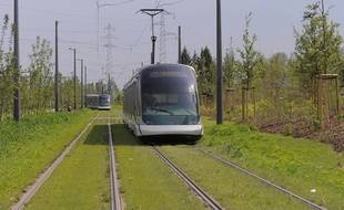 La ligne F ne circulera notamment pas samedi à Strasbourg. Illustration