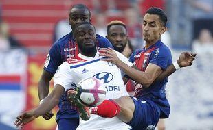 A l'image de Tanguy Ndombele, l'OL a vraiment souffert samedi à Caen.