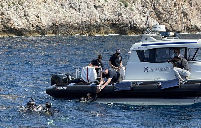 Le prince Albert II de Monaco a participé à la mise à l'eau des spécimens