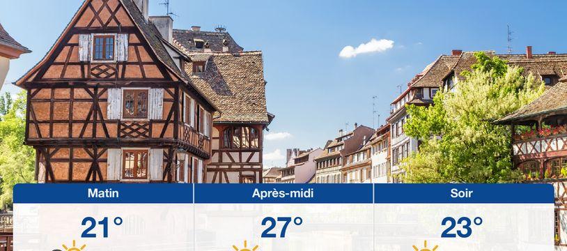 Météo Strasbourg: Prévisions du vendredi 23 août 2019