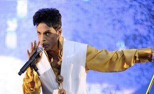 Prince en concert au Stade de France le 30 juin 2011.