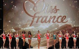 L'élection de miss France apporte de la magie dans la ville d'accueil, ici en 2016 à Montpellier.