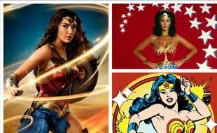 Il n'y a pas une mais plusieurs Wonder Woman à travers les âges et les supports