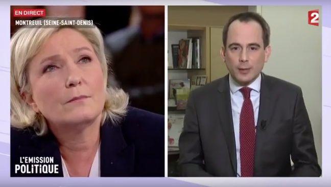 Marine Le Pen et Patrice Bessac