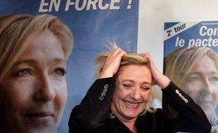 Marine Le Pen réalise plus de 20% dans le Nord-Pas-de-Calais au second tour des régionales, le 21 mars 2010