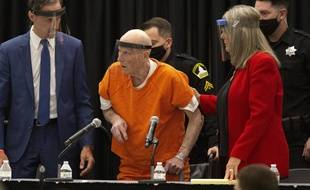 Le «Golden State killer» Joseph James DeAngelo a plaidé coupable de 13 meurtres, le 29 juin 2020, au tribunal de Sacramento.