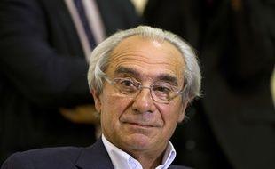 Le député UMP et médecin Bernard Debré, lors d'une réunion à Paris le 5 septembre 2012.