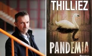 Franck Thilliez et son roman Pandemia.