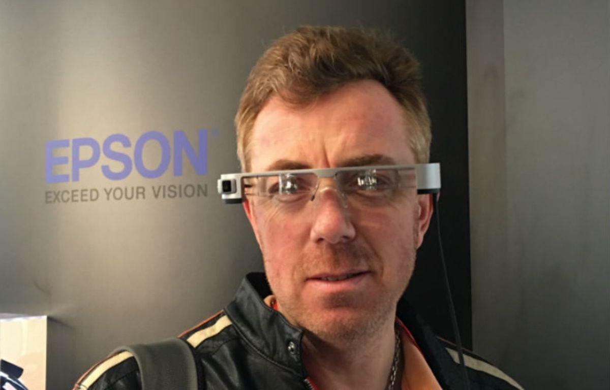 Les futures lunettes Moverio BT-300 d'Epson ouvrent le champ des possibles à la réalité augmentée. – JEREMY PATRELLE