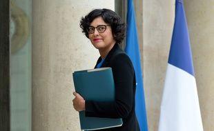 Mission accomplie pour la ministre du Travail Myriam El Khomri, ici le 3 août 2016 à l'Elysée, un jour avant le feu vert du Conseil Constitutionnel à la loi Travail.