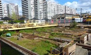 La part belle sera aussi faîte aux espaces verts sur le site.