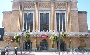 La gare de Belfort.