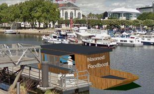 Le projet de food boat pourrait voir le jour en 2022.