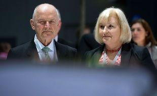 Ferdinand Piëch et son épouse Ursula, ici en 2013.