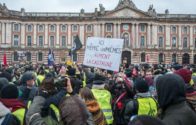 VIDEO. «Gilets jaunes» à Toulouse: Le manifestant ayant agressé un journaliste de CNews jugé ce mercredi