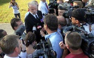 Une conférence de presse du pasteur Terry Jones, le 9 septembre 2010