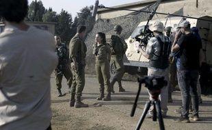L'équipe de « Israël, Terre de séries »  a filmé le tournage de la série « Taagad ».