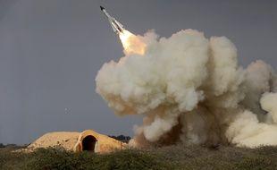 Un tir d'entraînement de missile longue distance. (illustration).