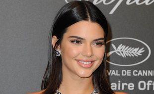 Kendall Jenner au photocall de la soirée Chopard le 19 mai 2017.